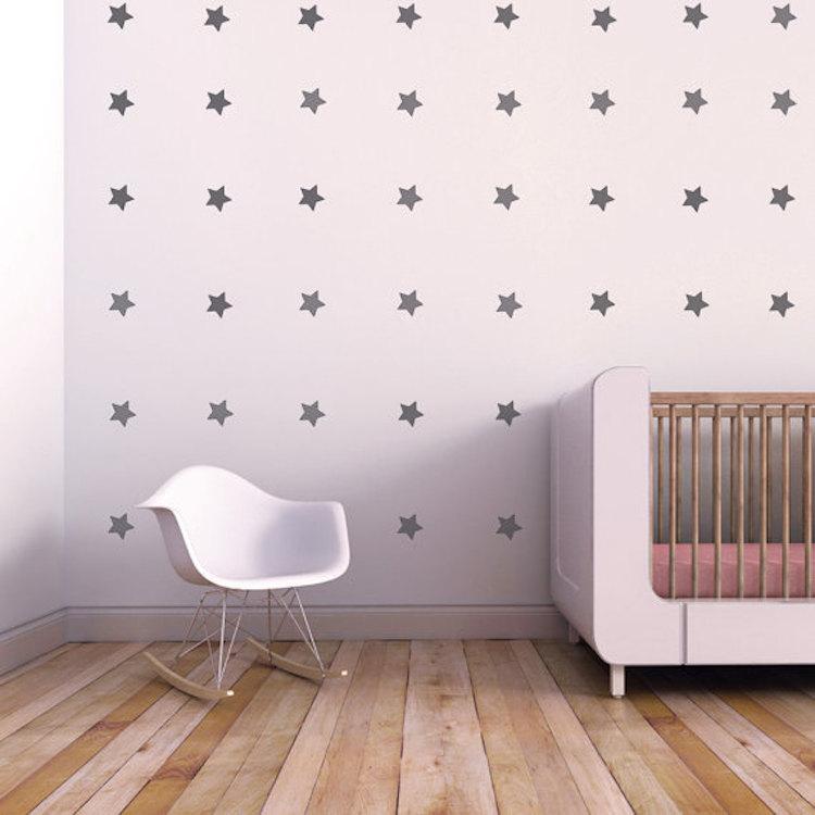 Trendy Design Wall Decals : Bedroom stars wall decals trendy designs